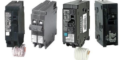 Plug-on Circuit Breakers